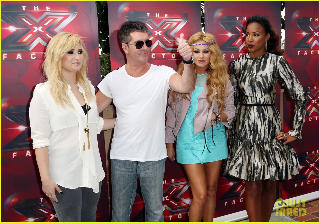demi lovato kelly rowland x factor la auditions day two 19