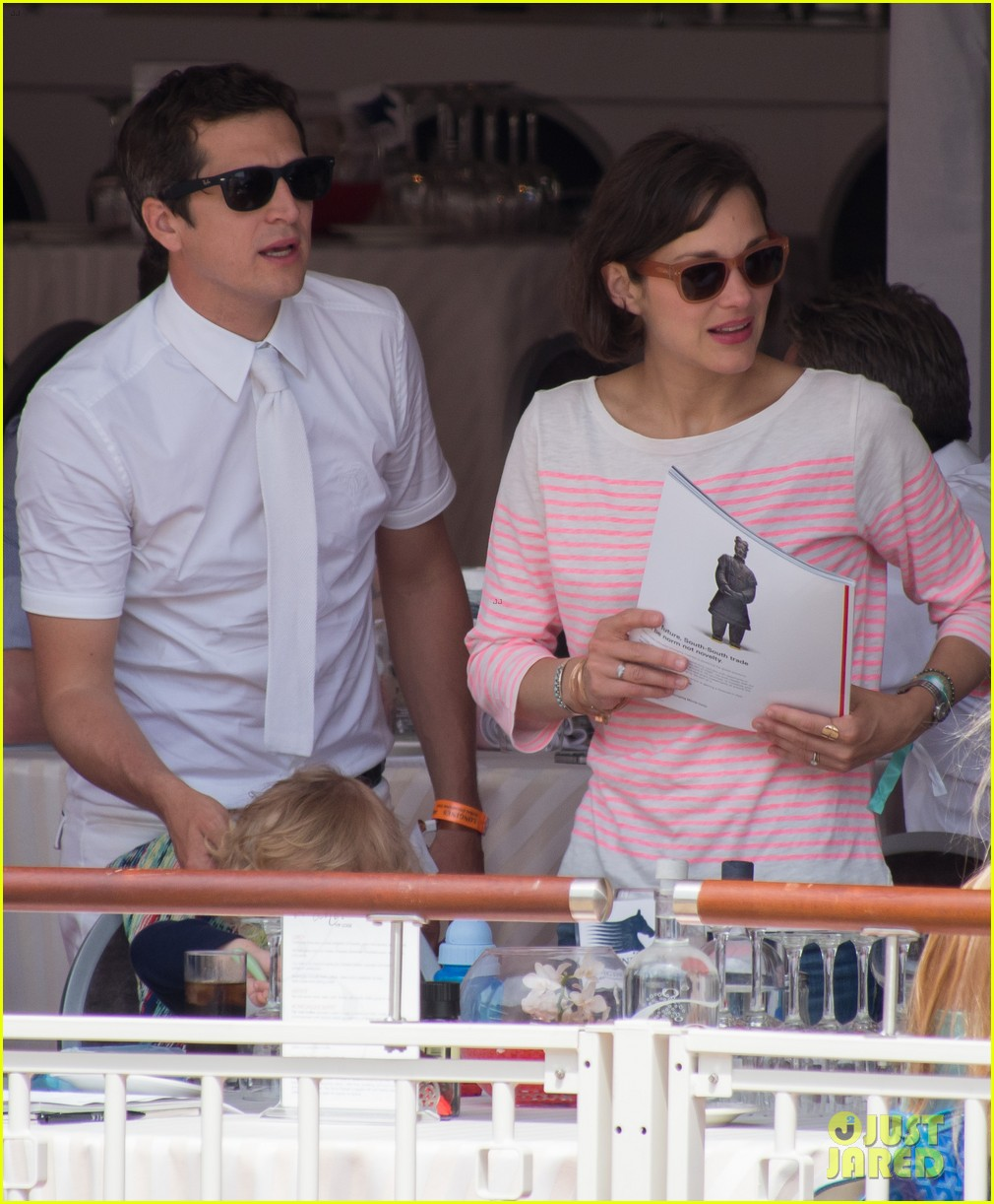 marion cotillard guillaume canet monaco jumping show marcel 09