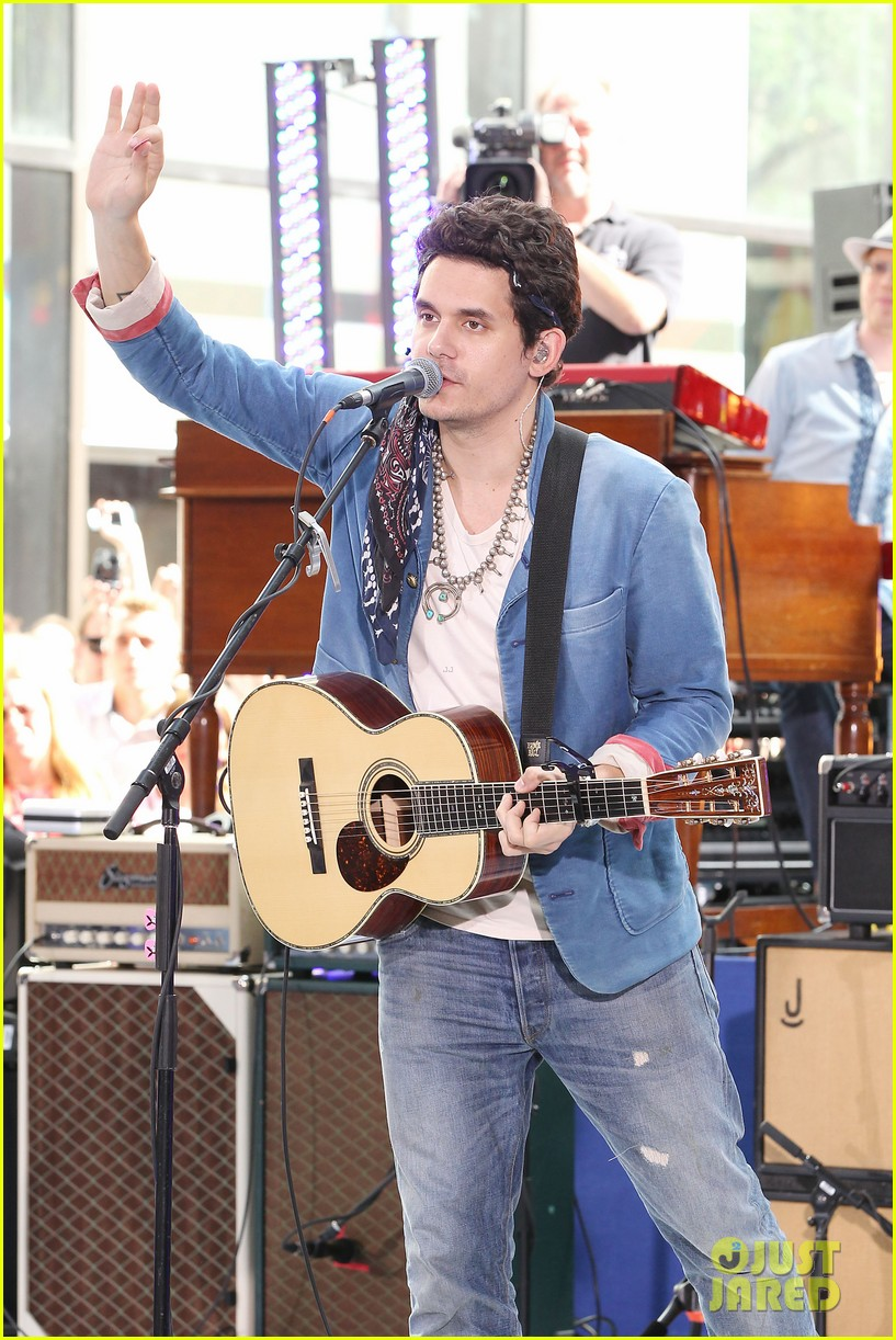 john mayer today show performance 32