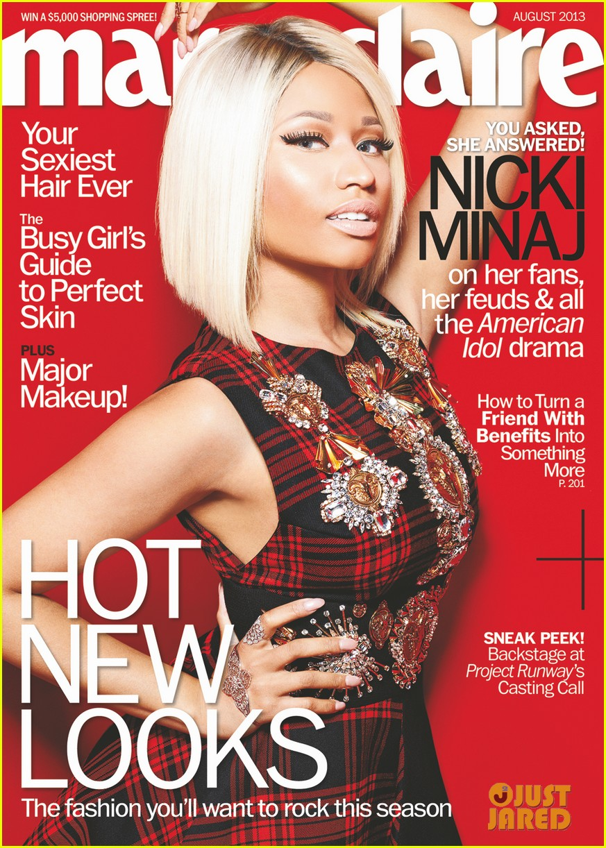nicki minaj covers marie claire august 2013 02