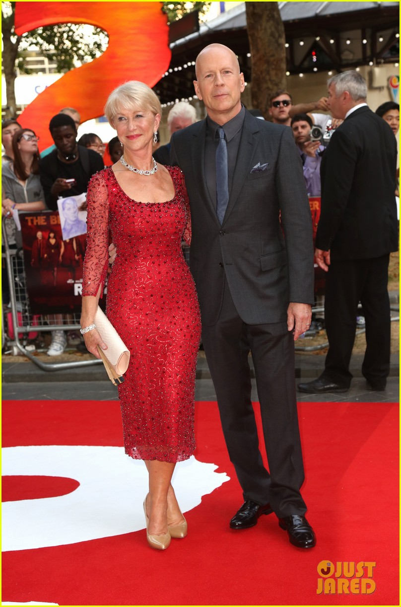 helen mirren bruce willis red 2 london premiere 17