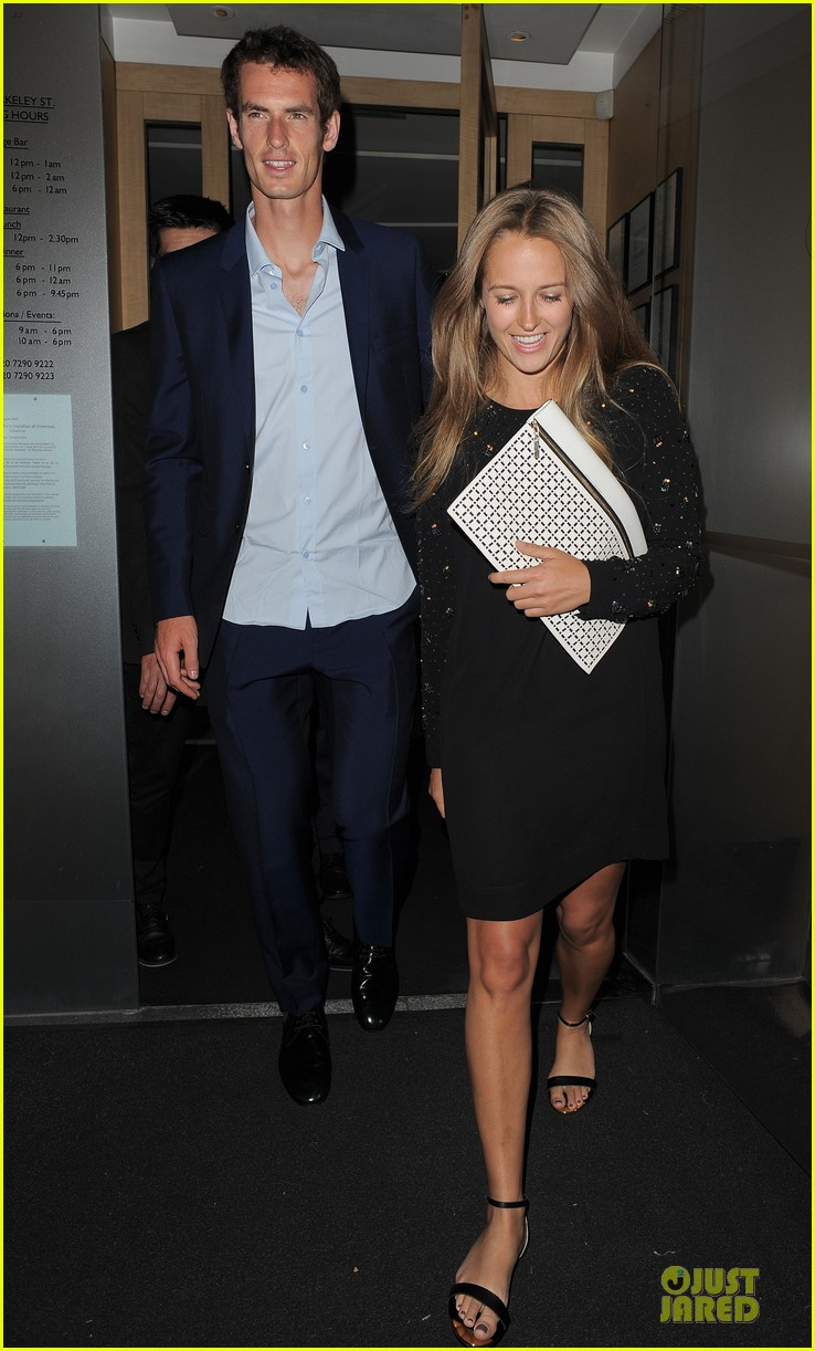 andy murray kim sears nobu dinner date after wimbledon photo call 03