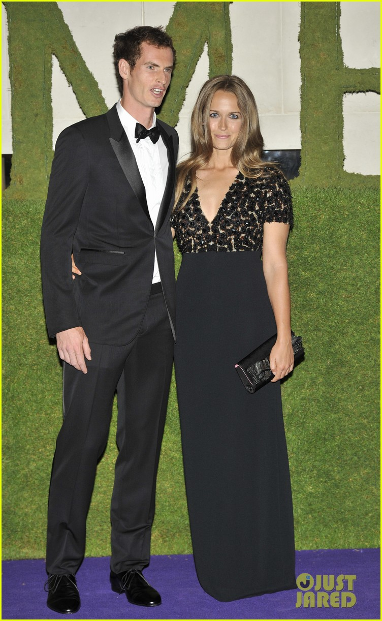 andy murray wimbledons winners ball with kim sears 102905710
