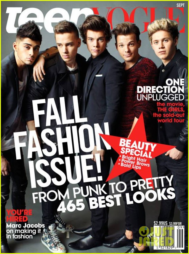 one direction covers teen vogue september 2013 012917515