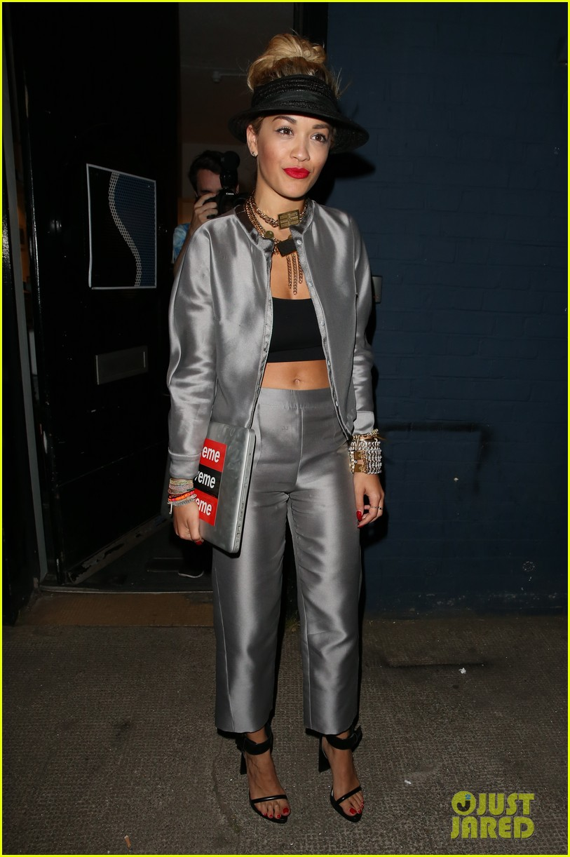 rita ora werkin it in the studio 132908411