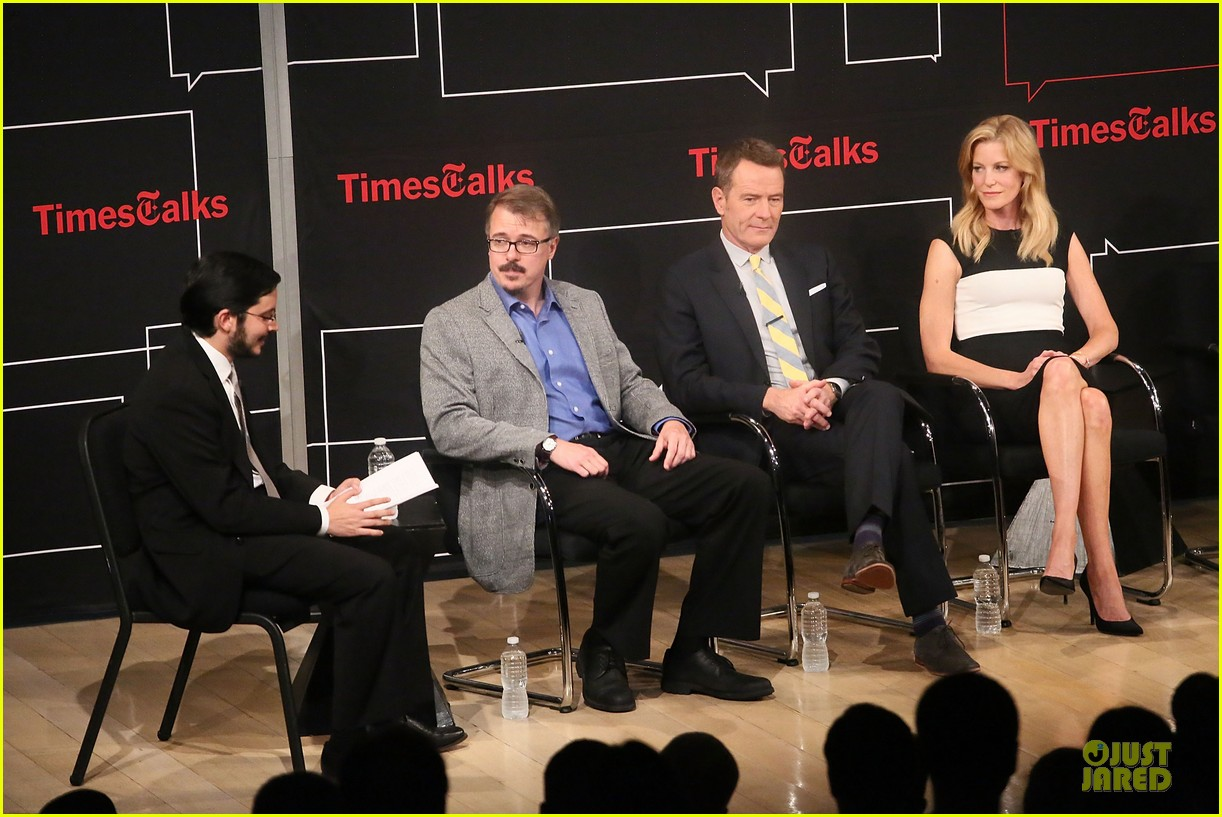aaron paul bryan cranston breaking  bad promo at timestalk 04
