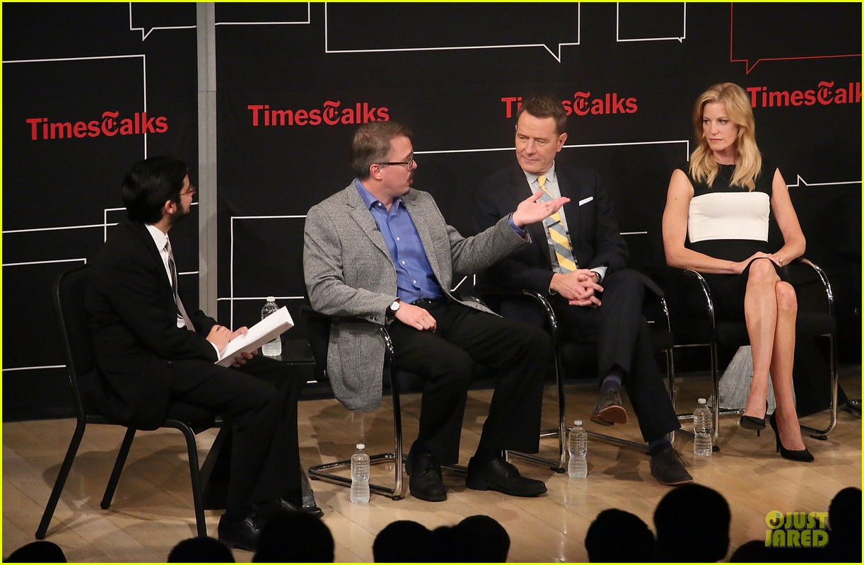 aaron paul bryan cranston breaking  bad promo at timestalk 11
