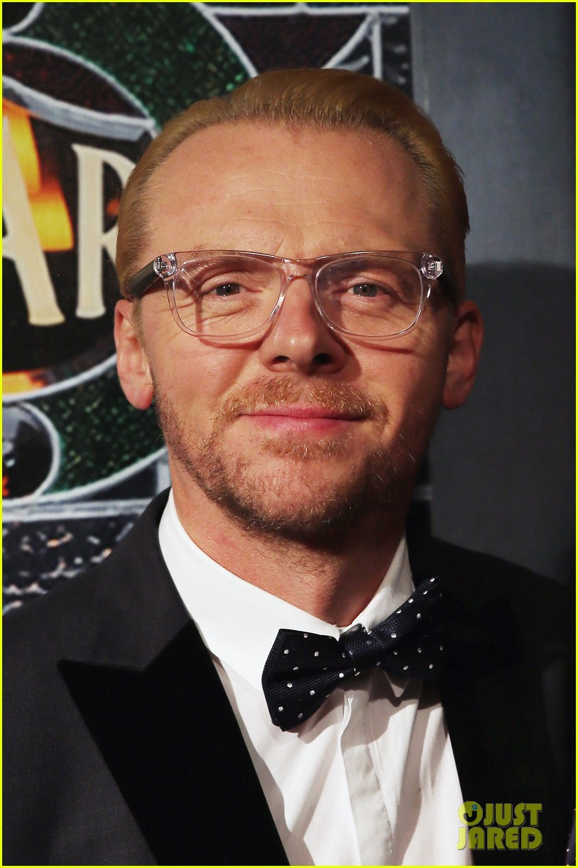 simon pegg the worlds end premiere 072910234