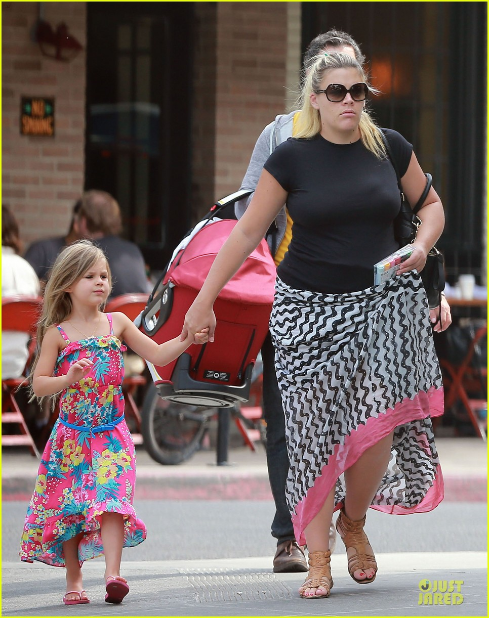 busy philipps post baby body at little doms 26