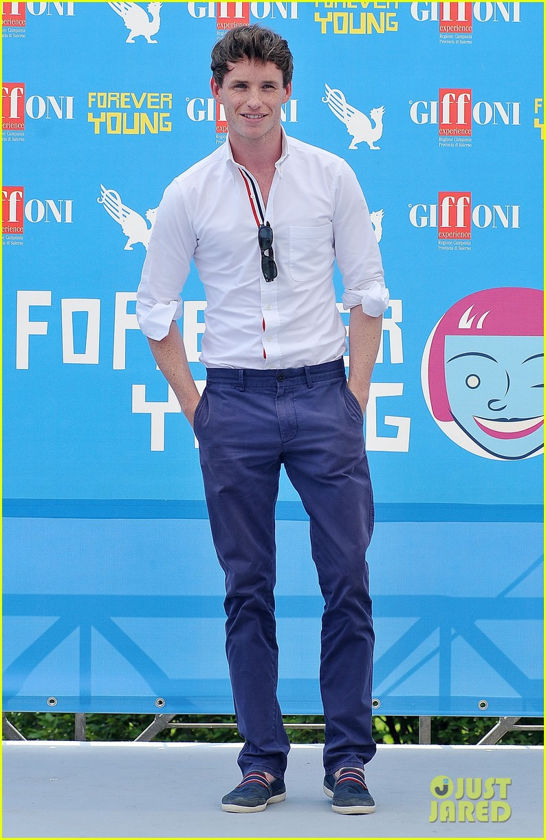eddie redmayne giffoni film festival photo call 012917424