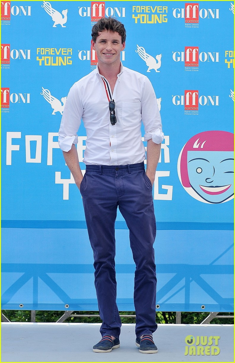 eddie redmayne giffoni film festival photo call 082917431