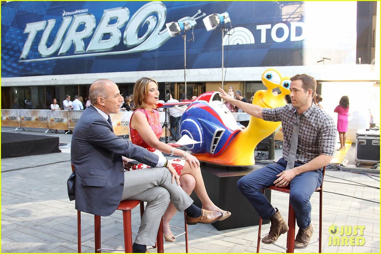 ryan reynolds turbo for today show 072906489
