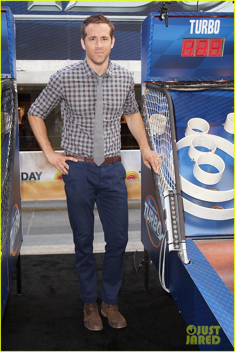 ryan reynolds turbo for today show 33