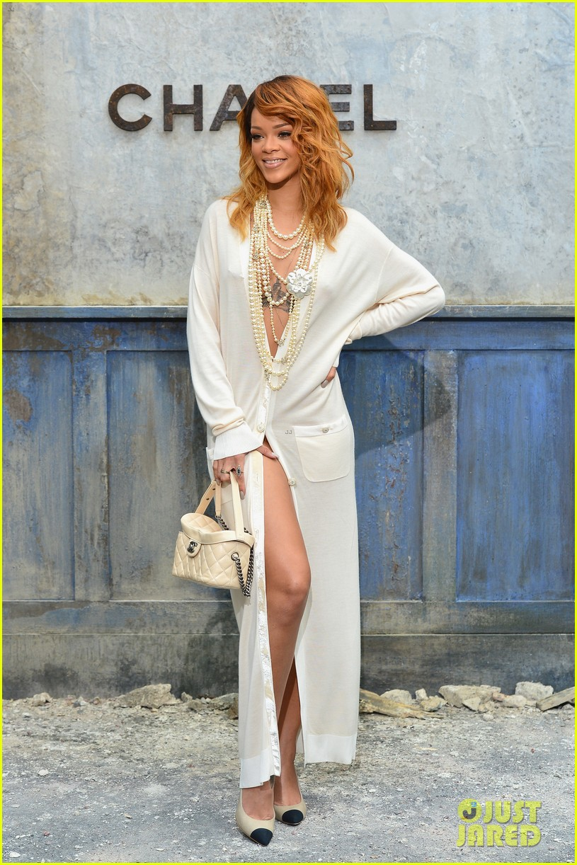 rihanna chanel haute couture fashion show 062902459