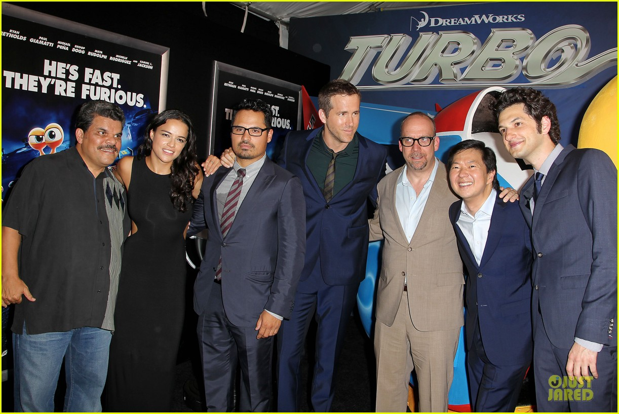 michelle rodriguez paul giamatti turbo nyc premiere 062906742