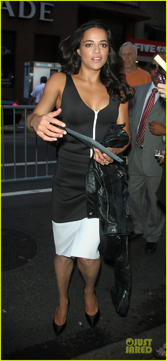 michelle rodriguez turbo promotion on today show 01
