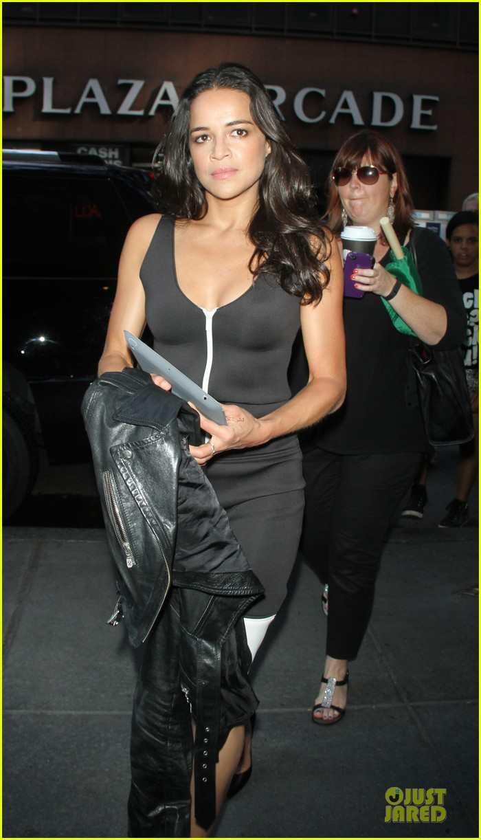 michelle rodriguez turbo promotion on today show 022906308