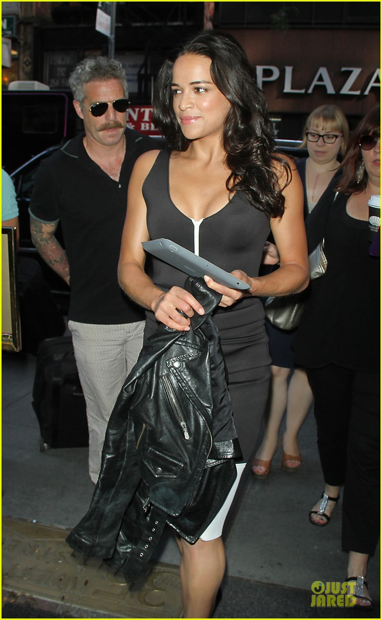 michelle rodriguez turbo promotion on today show 07
