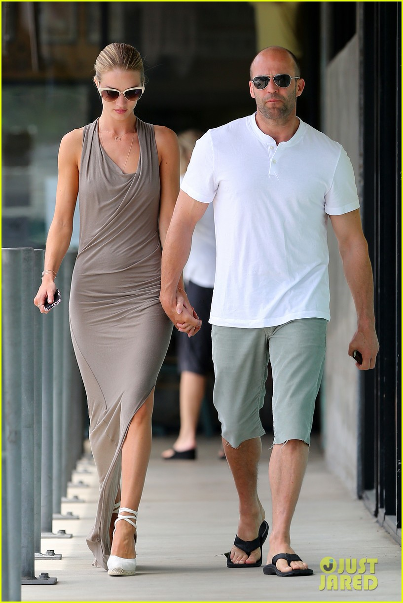 rosie huntington whiteley jason statham lunch lovers 04