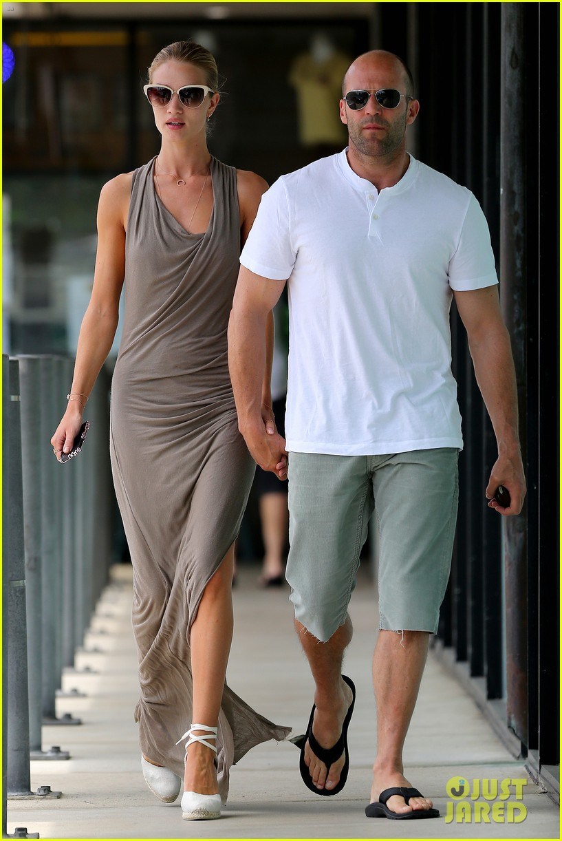 rosie huntington whiteley jason statham lunch lovers 12