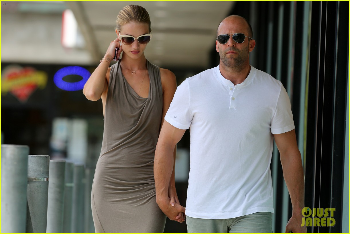 rosie huntington whiteley jason statham lunch lovers 18