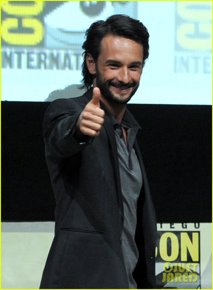 rodrigo santoro eva green 300 rise of an empire comic con panel 04