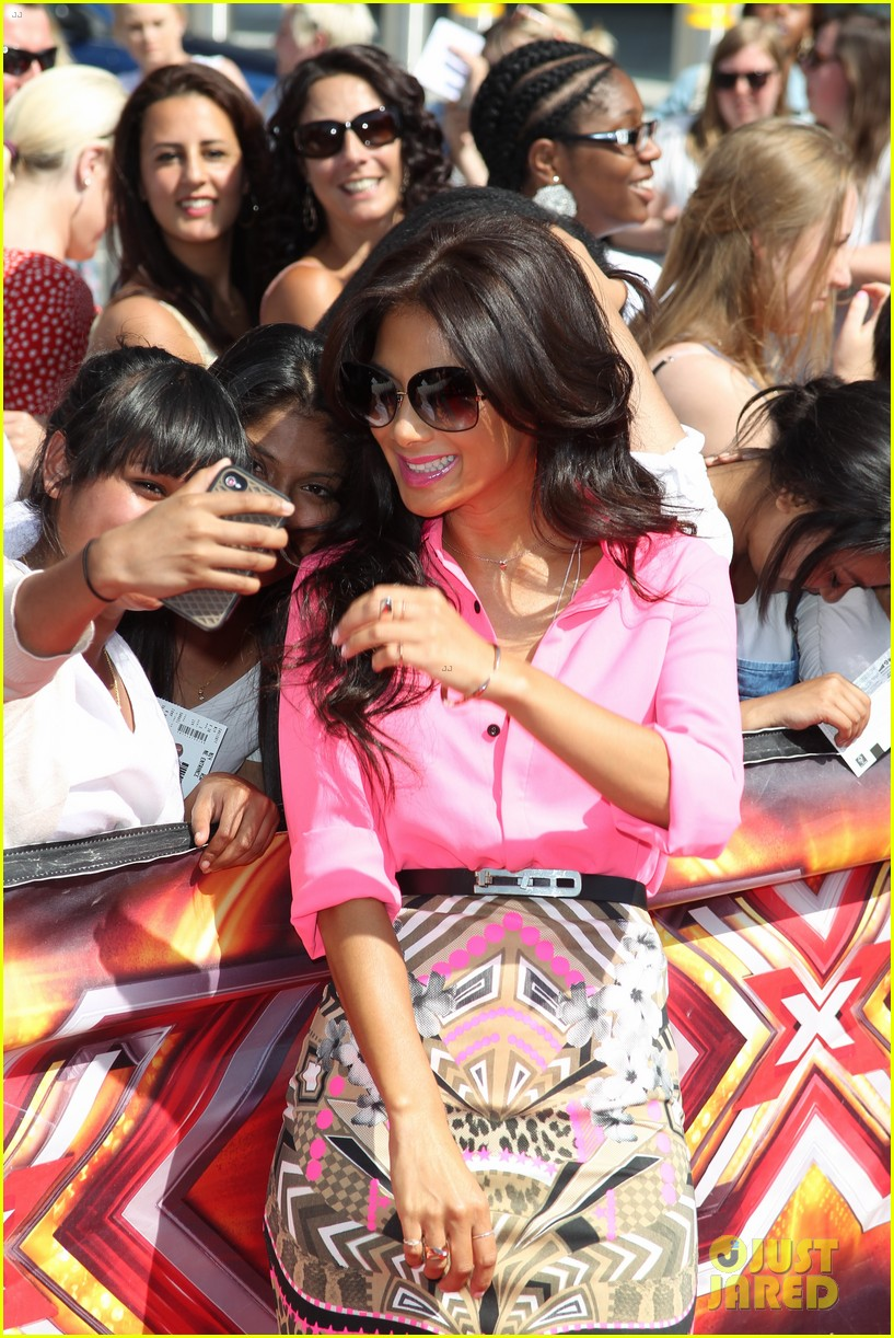 nicole scherzinger x factor uk london auditions 10