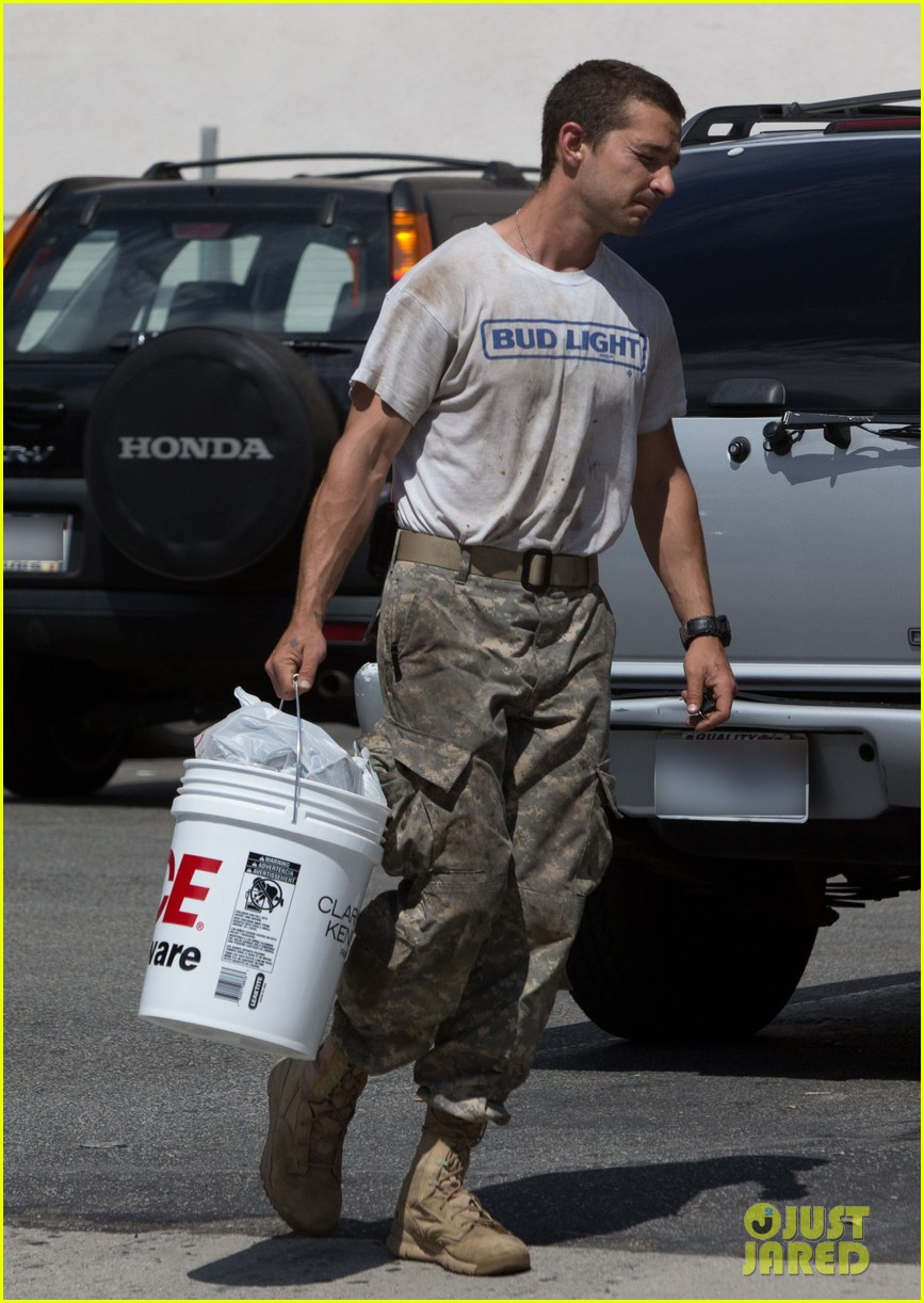 shia labeouf wears same outfit for third time in one week 10