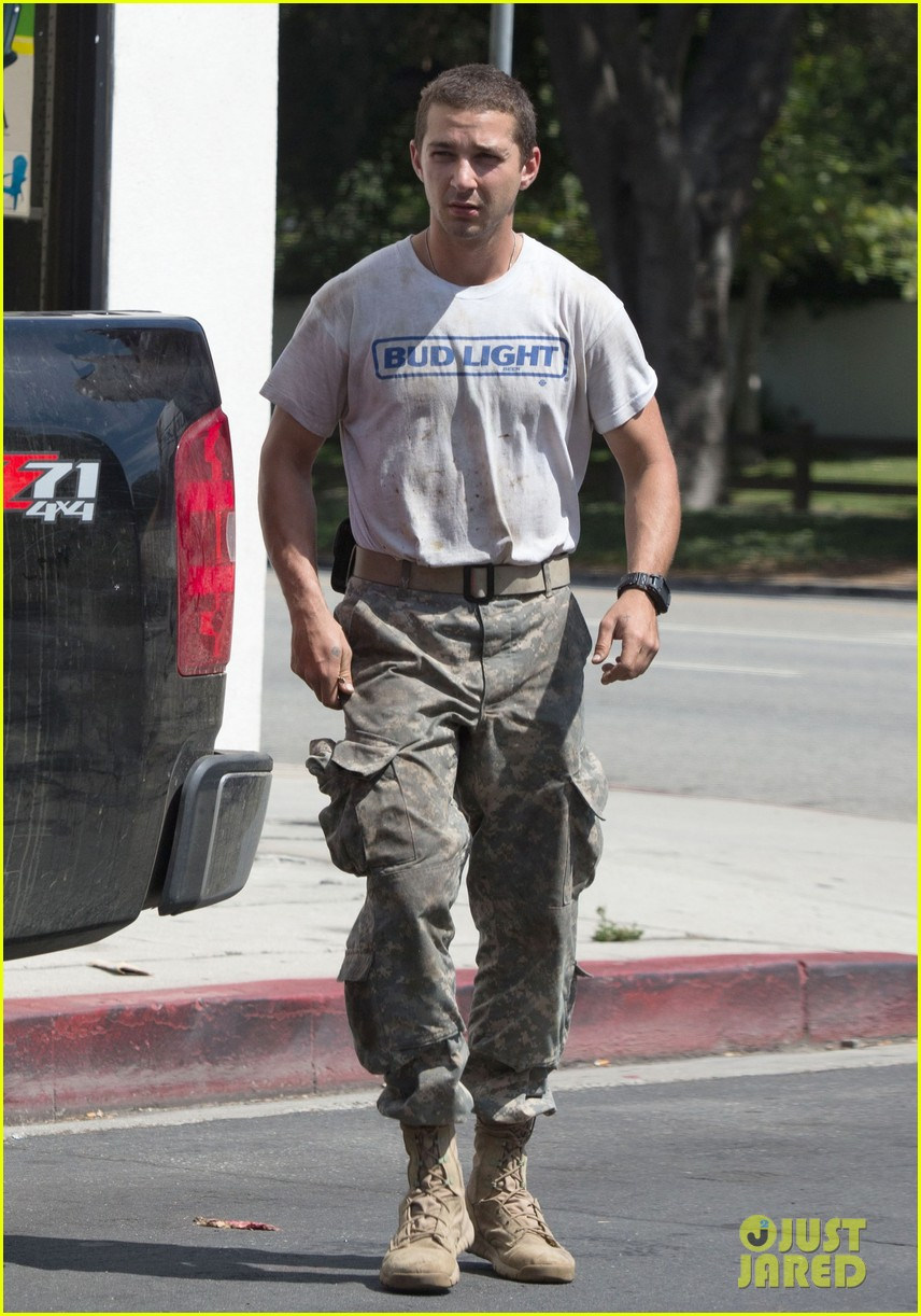 shia labeouf wears same outfit for third time in one week 132909642