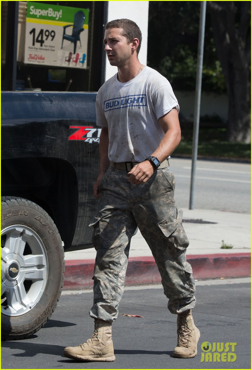 shia labeouf wears same outfit for third time in one week 15