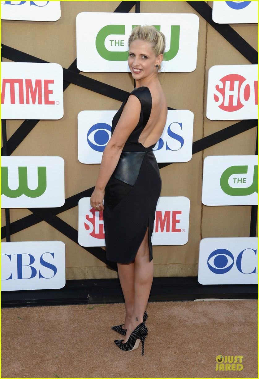sarah michelle gellar crazy ones cast cbs summer tca party 072919872