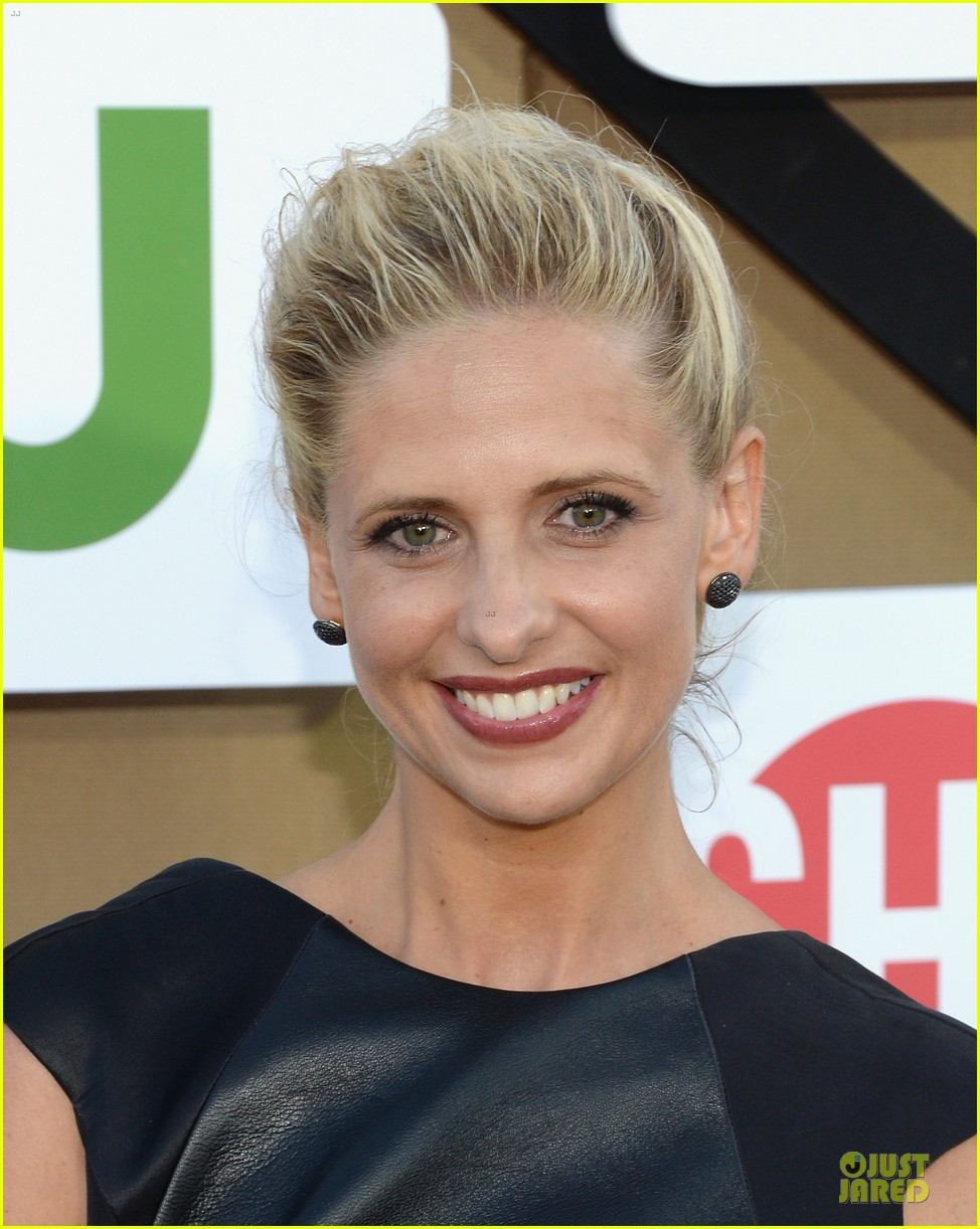 sarah michelle gellar crazy ones cast cbs summer tca party 09