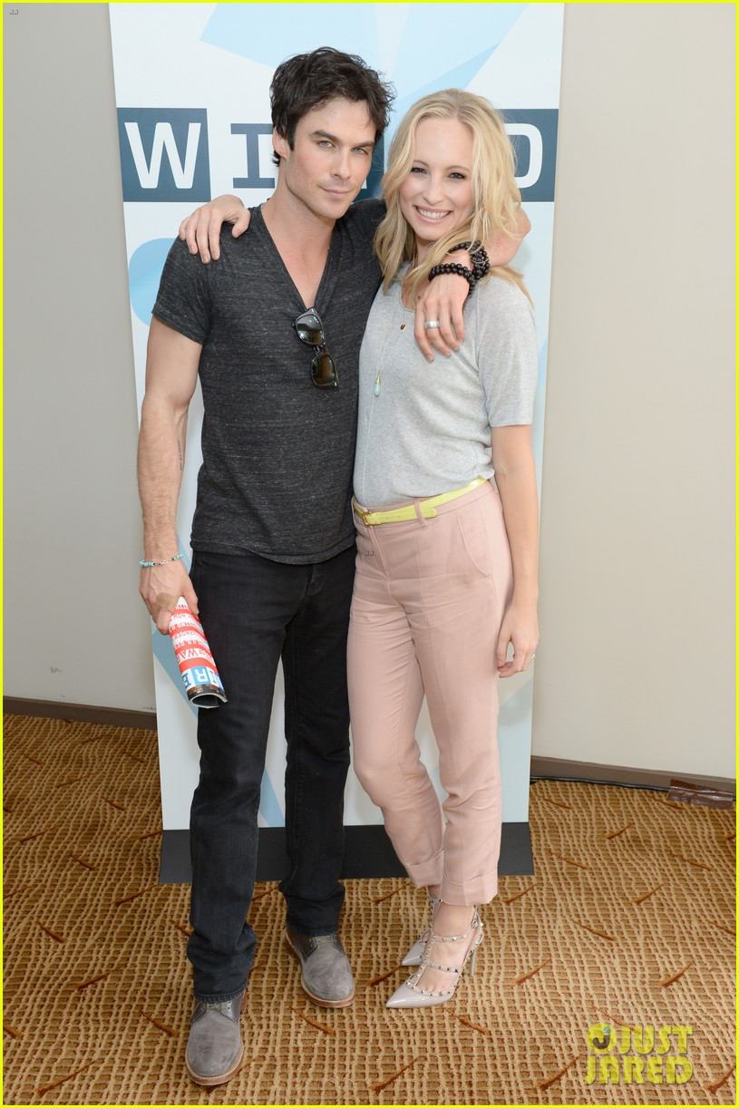 ian somerhalder comic con wired cafe with candice accola 01