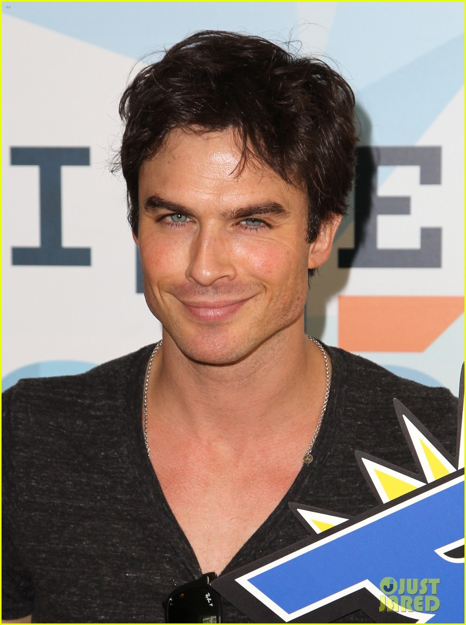ian somerhalder comic con wired cafe with candice accola 042913263
