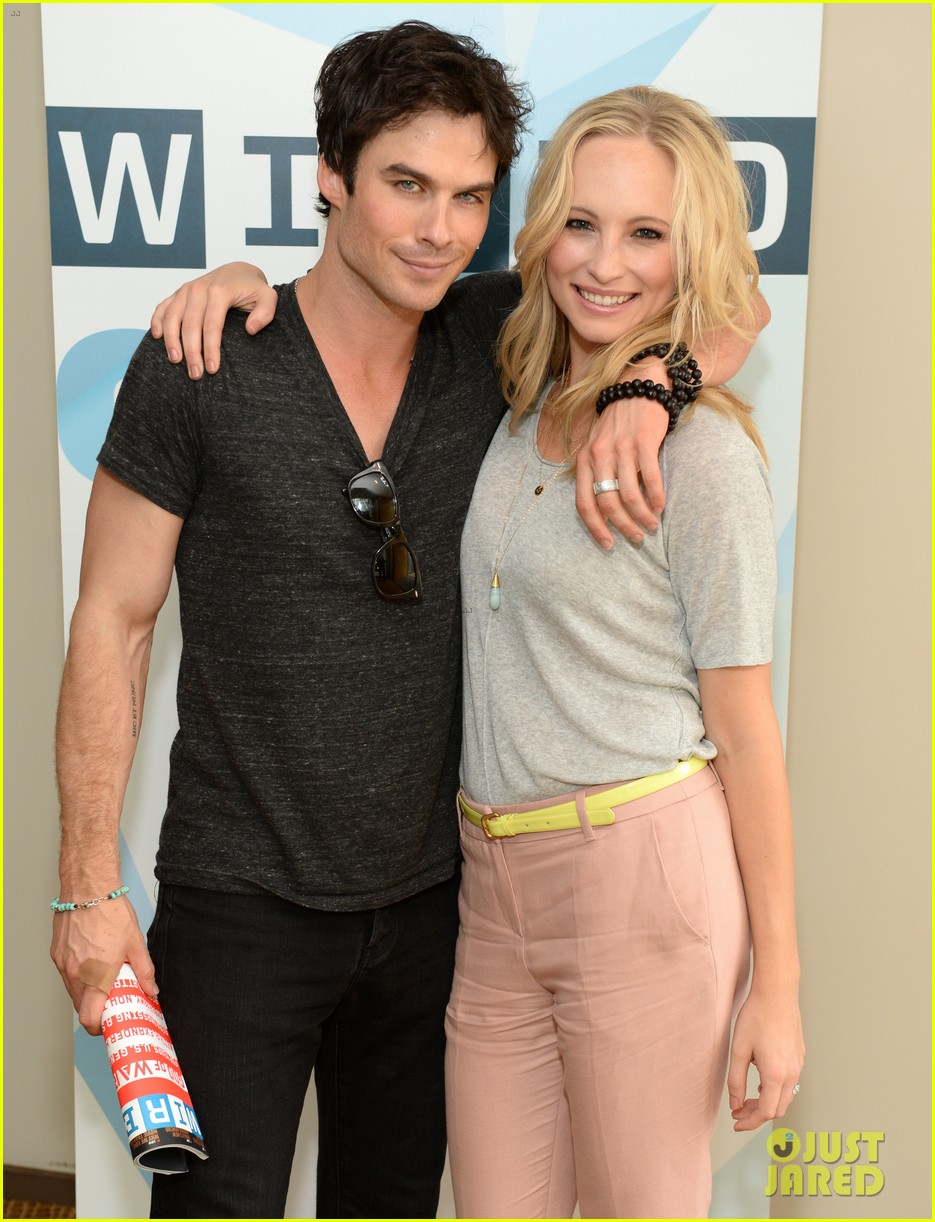 ian somerhalder comic con wired cafe with candice accola 08