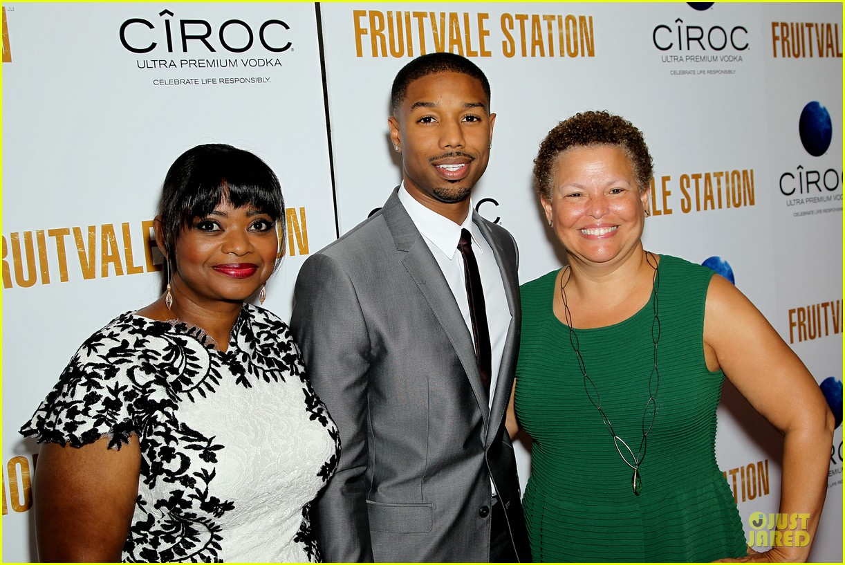 octavia spencer michael b jordan hold hands at fruitvale station nyc station 13