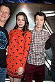 hailee steinfeld asa butterfield enders game at comic con 21