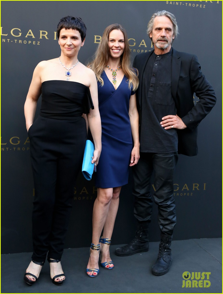 hilary swank bulgari boutique opening in saint tropez 12