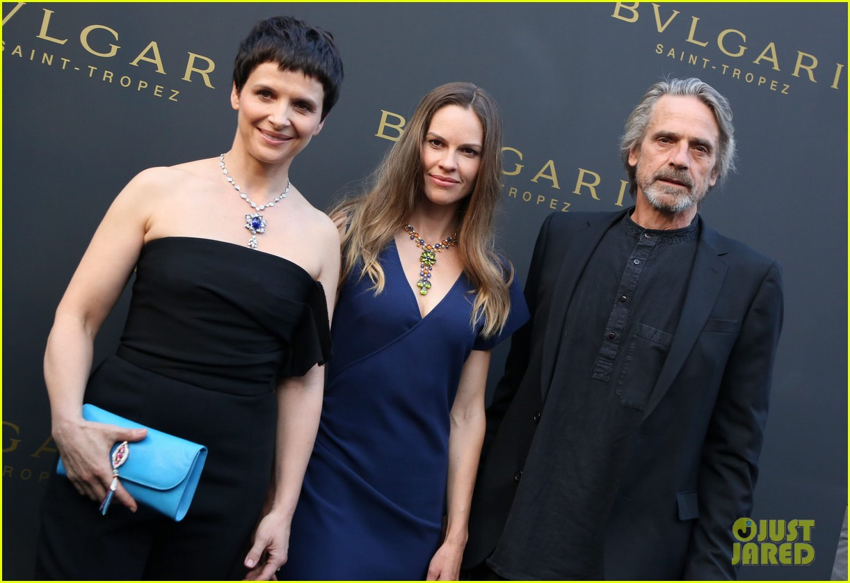 hilary swank bulgari boutique opening in saint tropez 13
