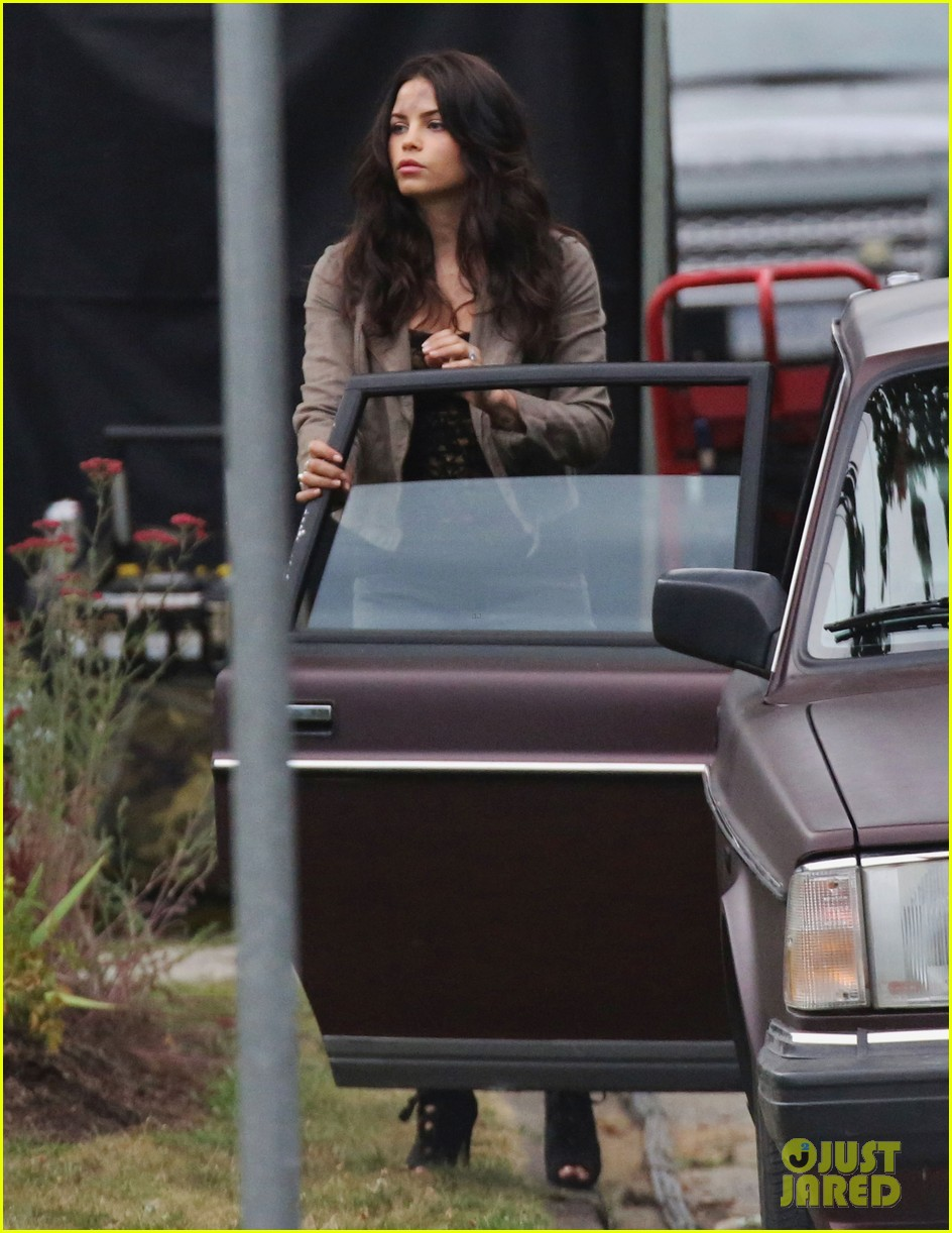 channing tatum films stunts jenna dewan debuts post baby body on set 06