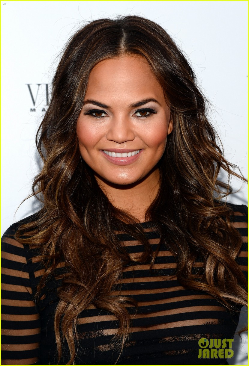 Chrissy Teigen: 'Vegas' Magazine's Summer Issue Party!