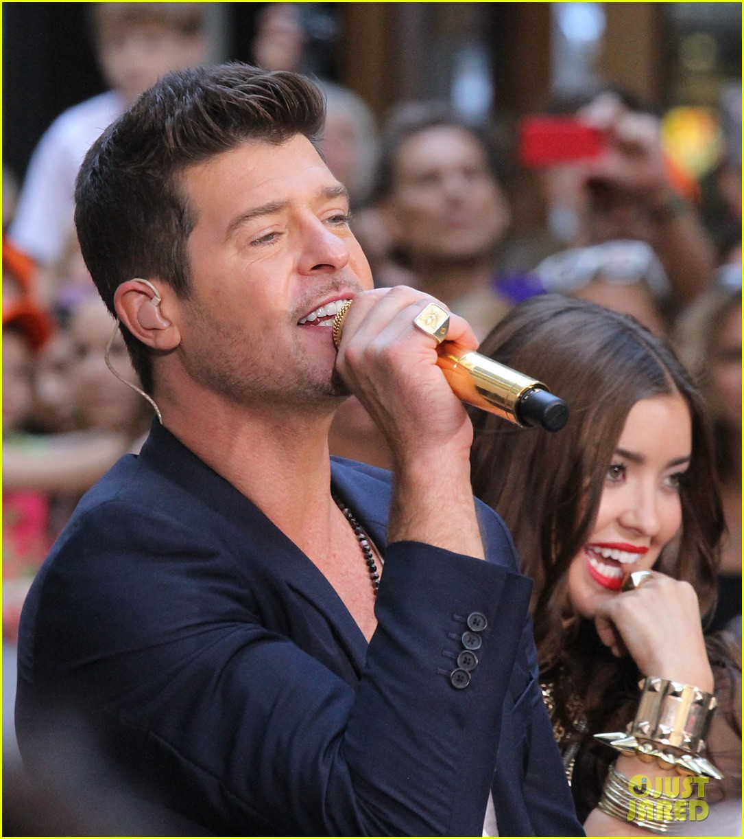 robin thicke today show performances watch now 142920118