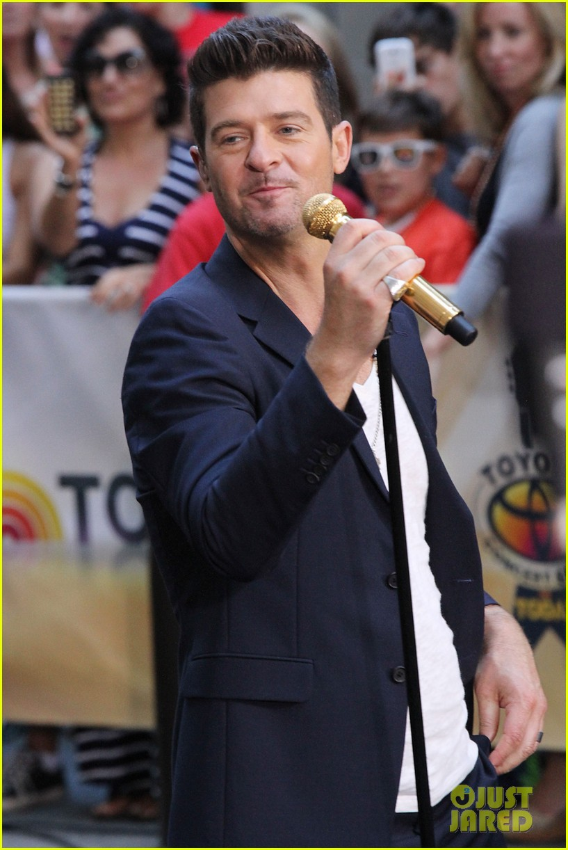 robin thicke today show performances watch now 152920119