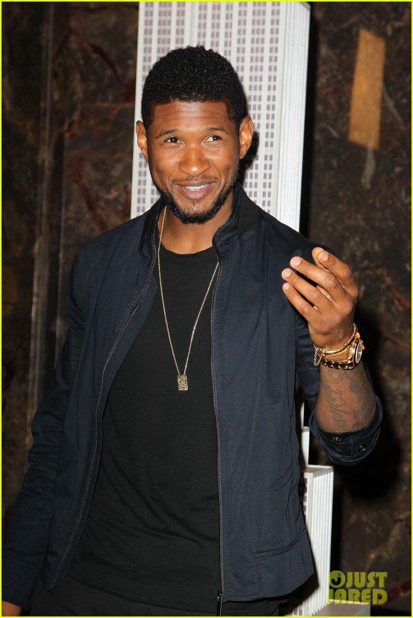 usher lights empire state building before 4th of july fireworks 15