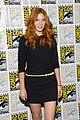 mike vogel rachelle lefevre under the dome at comic con 12