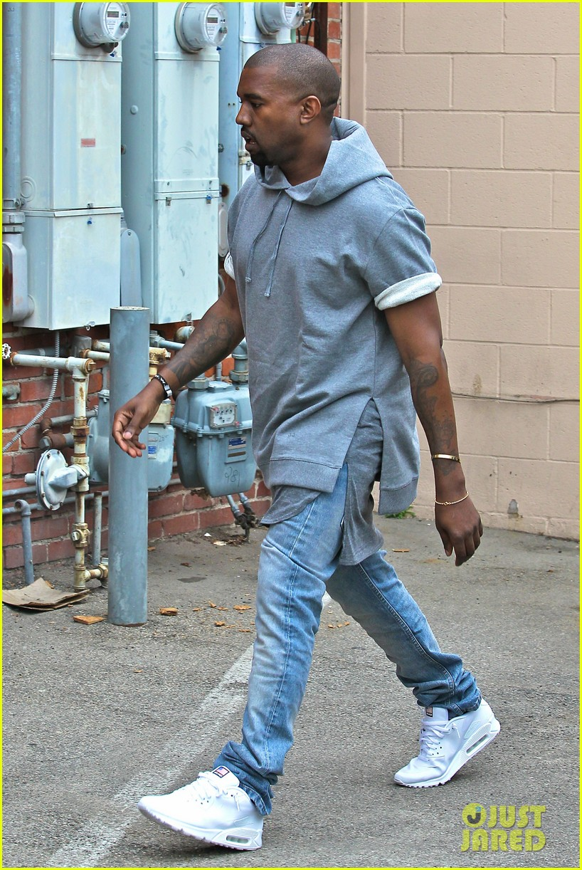 kanye west shops for furniture reportedly naps with north 03