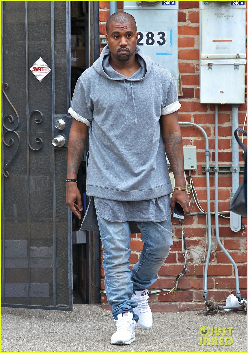 kanye west shops for furniture reportedly naps with north 05