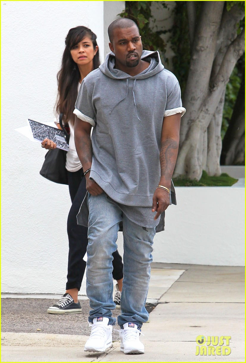 kanye west shops for furniture reportedly naps with north 072908102