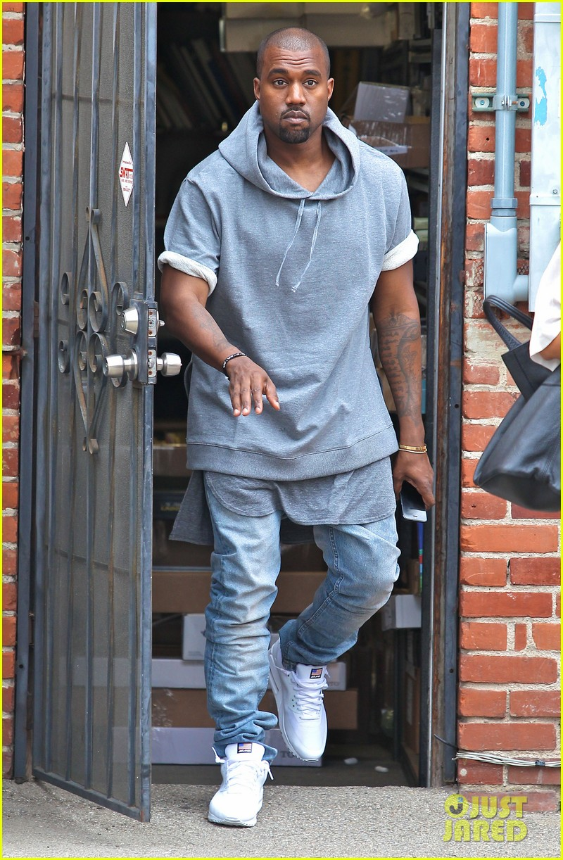 kanye west shops for furniture reportedly naps with north 10