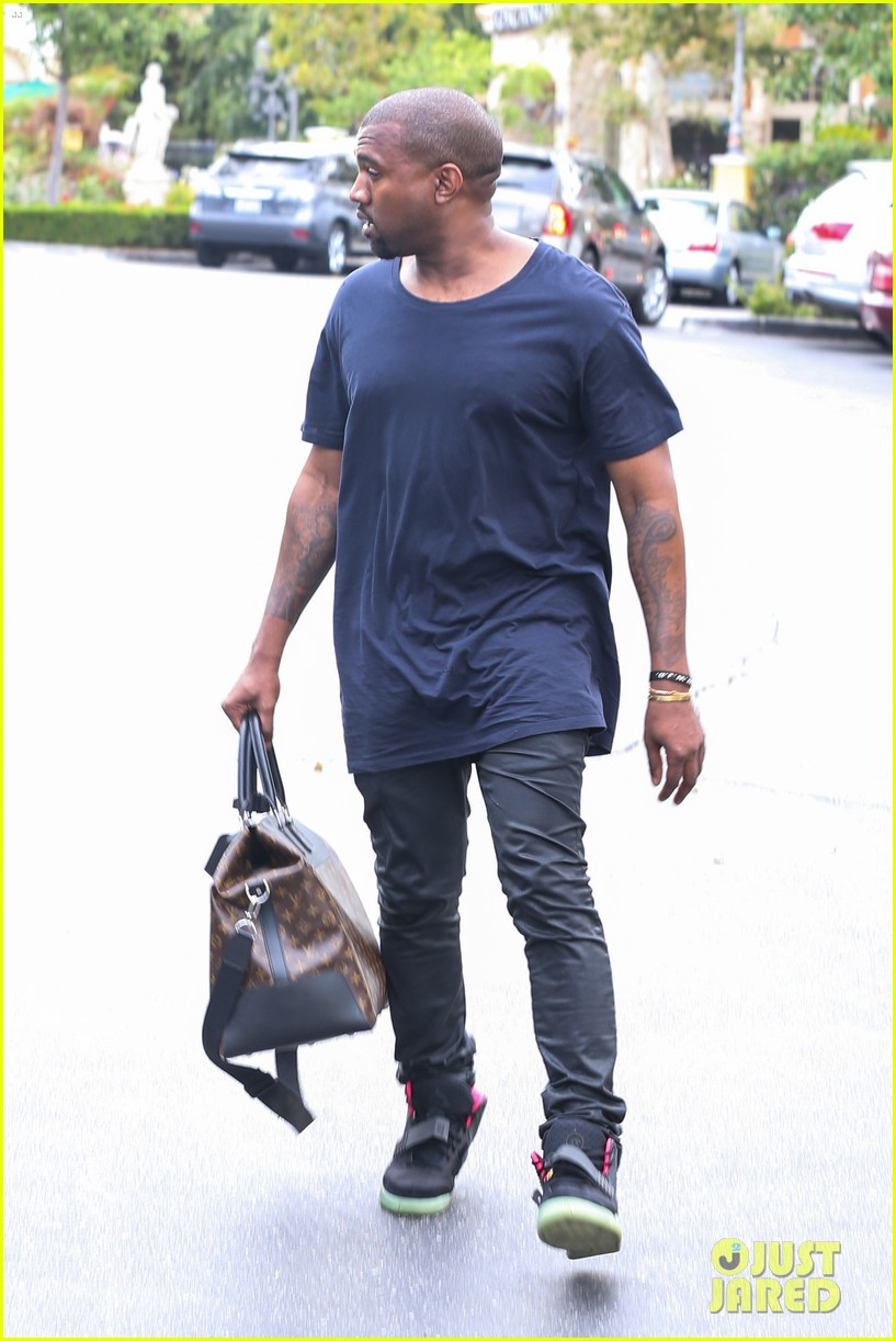kanye west steps out solo after turning down north photo deal 052903345